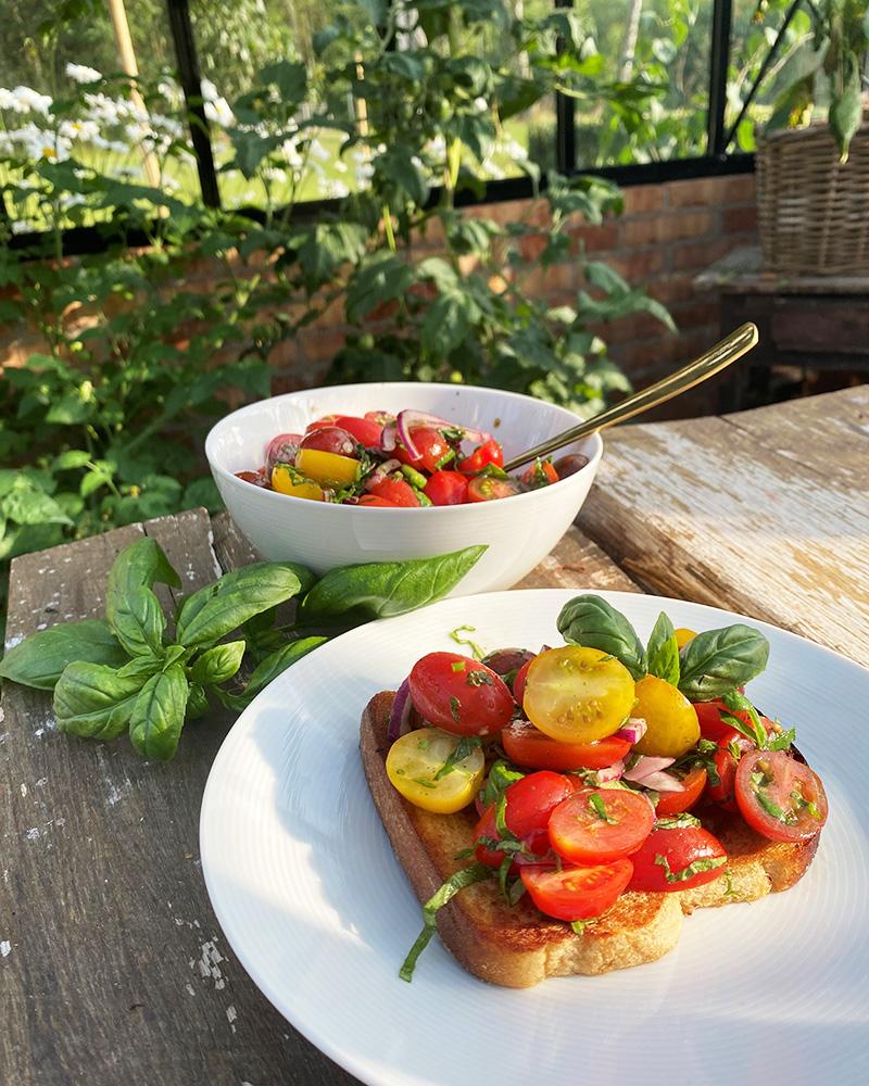 Ensimmäiset tomaatit